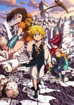 Seven Deadly Sins - nanatsu no taizai - animes - wallpapers iphone - wallpapers android - papeis de parede - nostalgia - manga - desenhos - naruto - dbz- full metal alchemist -! Seven Deadly Sins Anime, 7 Deadly Sins, Manga Anime, Otaku Anime, Anime Naruto, Anime Dvd, I Love Anime, Awesome Anime, Me Me Me Anime