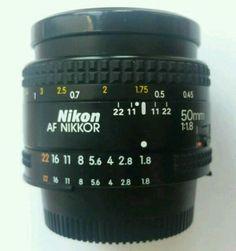 Nikon Nikkor AF 50 1.8 Objektiv