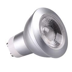 Kosnic 5W COB GU10 LED GU10 LED, 5 Watt, 50 Watt Halogen Replacement, 45° Beam Angle, 360-380 Lumens, 3 Year Guarantee