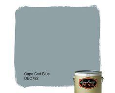 Dunn-Edwards Paints paint color: Cape Cod Blue DEC792 | Click for a free color sample