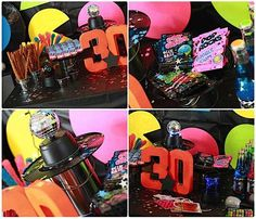 80's Rock Star 30th Birthday Party