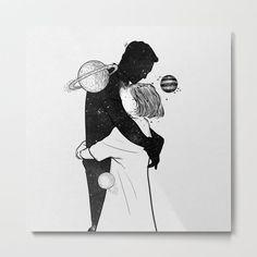The World Inside You. Greeting Card by Muhammed Salah - Set of 3 Folded Cards x Muhammed Salah, Cool Art Drawings, Drawing Art, Folded Cards, Erotic Art, Metal Art, Cute Art, Vibrant Colors, Illustration Art