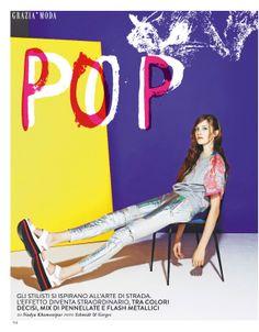 visual optimism; fashion editorials, shows, campaigns & more!: pop: karen babenko by schmidt & gorges for grazia italia 30th april 2014