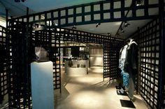 hong kong: alexander wang store opening #continiousarchitecturaldesign