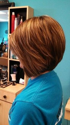 hairstyles for short hair stacked bob
