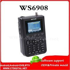 "(84.90$)  Watch more here  - ""Satlink WS-6908 3.5"""" DVB-S FTA digital satellite meter satellite finder ws 6908 satlink ws6908 free shipping post"""