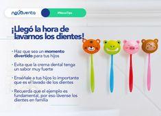 Enséñale a tus hijos sobre la importancia de lavarse los dientes tres veces al día y hazlo de una manera divertida ¡Los sorprenderás!