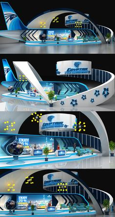 Egypt Air Booth on Behance