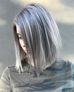"""332 Likes, 5 Comments - Colorist Hair Stylist (@hairbyedwin) on Instagram: """"// silver queen //"""""""