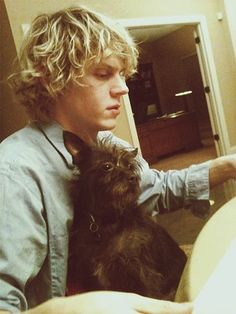 Evan Peters. I can never un-see him as a creeper from American Horror Story. @Amy Lyons Lyons Miller