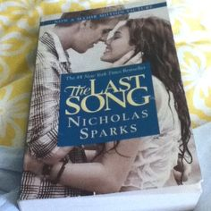 I wasn't much of a reader until I started reading Nicholas Sparks books...I am reading The Lucky One right now and it is hard to put down...I will read them all...
