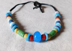 Halskette im Wikinger Stil mit alten von BelanasSchatzkiste auf Etsy