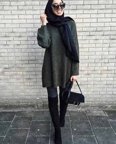 Winter outwears with hijab – Just Trendy Girls Hijab Chic, Casual Hijab Outfit, Modesty Fashion, Modern Hijab Fashion, Fashion Outfits, Fashion Women, Islamic Fashion, Muslim Fashion, Hijab Mode Inspiration