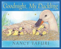 As a mother duck leads her ducklings home, one dawdles and gets left behind. Luckily, a friend is there to help the little duckling get back to his nest in time for bed.