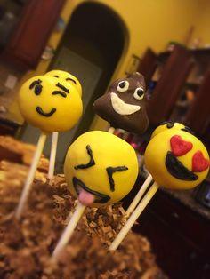 Nicole's Sugary Sweet Boutique  Emoji's Cakepops #NicoleSugarySweetBoutique                                     https://www.facebook.com/nicolesugarysweetboutique/