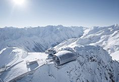 The heart of Austria's Solden ski area