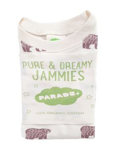 """Our """"My Jammies"""" collection is made of incredibly soft GOTS certified organic cotton, featuring brand new exclusive hand printed Parade designs. Organic Baby Clothes, Sustainable Clothing, Organic Cotton, Pure Products, Fashion Outfits, Printed, Kids, Collection, Style"""