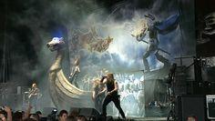 Amon Amarth... Taken 7/27/13 Tinley Park, IL... #mayhemfest2013