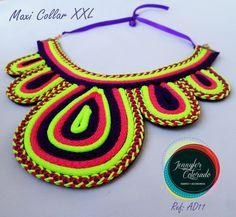 Macrame, Crochet Earrings, Facebook, Creative, Jewelry, Fashion, Necklaces, Amor, Bracelets