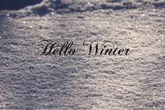 Hello Winter | Flickr - Photo Sharing!