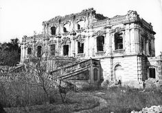 Remains of the Old Summer Palace (Yuanmingyuan) in a photo taken by Ernst Ohlmer in 1873.