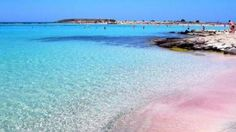 Elafonisi, Crete - Greek Islands- Miss this pink beach. Elafonisi, Crete - Greek Islands- Miss this pink beach. Santorini, Crete Island, Island Beach, Dream Vacations, Vacation Spots, Most Beautiful Beaches, Beautiful Places, Places To Travel, Places To See