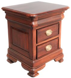 REBECCA BED SIDE 1  DOOR/1 DRAWER: Made of solid mahogany wood; DIMENSIONS: L46xW46XH71 cm; PRICES: 17900/-