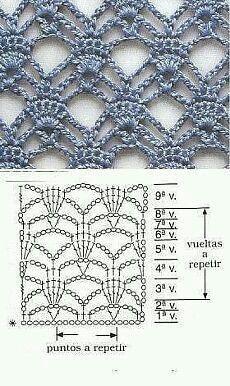 Barrado azul ***nice pattern for a loose summer top