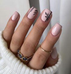 Matte Pink, Matte Nails, Glitter Nails, Gel Nails, Fall Nail Art, Autumn Nails, Fall Nail Colors, Fall Manicure, Manicure Colors