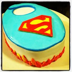 Superman Baby Shower..only If Itu0027s A Boy...which It Won