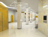 bank interior / wnętrze banku