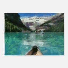 Lake Louise 5'x7'Area Rug for