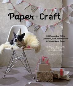 Paper + Craft    25 Charming Gifts, Accents, and Accessories to Make from Paper    By Minhee and Truman Cho, With Randi Brookman Harris,Photographs by Johnny Miller