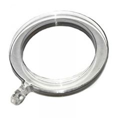 """Lucite Acrylic Ring for 1 1/8"""" Rod Diameter ~ Each"""