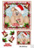Christmas Teddy 1