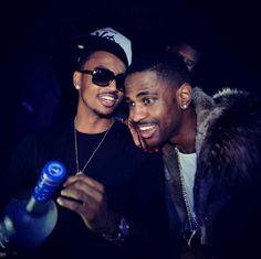 Trey Songz & Big Sean<3