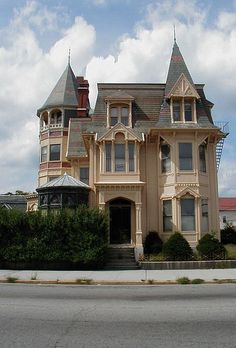 Victorian house on Broadway, Providence, Rhode Island