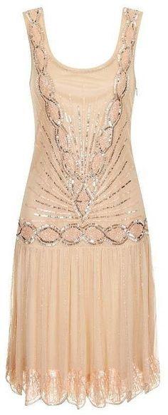 Frock and Frill Zelda Embellished Flapper Dress (£135) | Perfect Flapper Dresses to Suit All Body Shapes | POPSUGAR Fashion UK