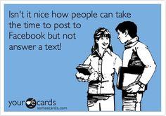 Yep...it's funny alright. Creepin on FB