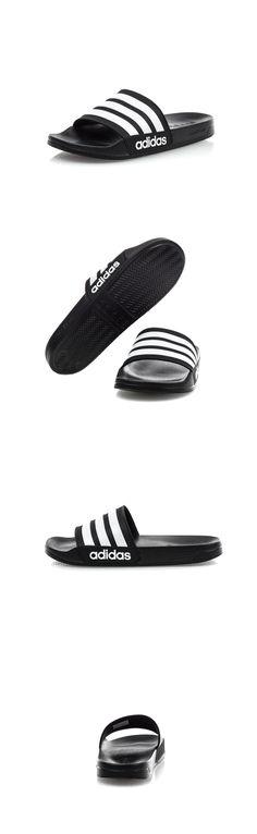 5ffcef5e431d Sandals 11504  Adidas Cf Adilette Slides Sandal Slippers Aq1701 Black White  Free Shipping -  BUY IT NOW ONLY   29.45 on  eBay  sandals  adidas  adilette  ...