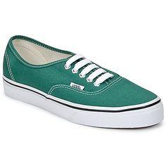 Vans AUTHENTIC Verde / Branco 350x350