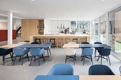 bkr offices tiel 9 the perfect blend of soft wood cabinetry with bold - Office Kitchen