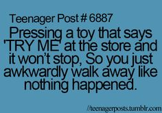 Totally me teenagers ; totally me and thats who i am, totally me quotes, totally me teenagers, totally me memes, totally me funny Relatable Teenager Posts Crushes, Teenager Posts Sarcasm, Funny Teen Posts, Relatable Teenage Posts, Funny Teenager Quotes, Funny Relatable Quotes, Funny Memes, Jokes, Teen Life