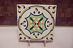 Hand Painted Ceramic Art Tile