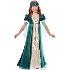 Schön #65000 Emerald Juliet Girls Costume Included: Transform Into A Lovely  Maiden With This Stylish Renaissance Costume. Featuring A Beautiful Emerald  Green ...