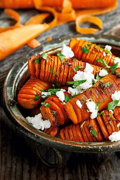 Upgrade your classic Thanksgiving side with these visual hasselback carrots. | Tesco