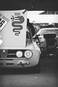 Alfa Romeo in race trim. It definitely kicks ass!
