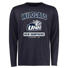 New Hampshire Wildcats Big & Tall Campus Icon Long Sleeve T-Shirt - Navy - $29.99