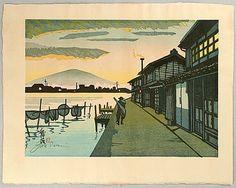 53 Stations of Tokaido - By Junichiro Sekino