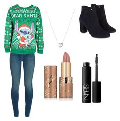 """""""Untitled #159"""" by myarv ❤ liked on Polyvore featuring J Brand, Monsoon, Disney, Links of London, tarte and NARS Cosmetics"""